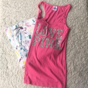 Victoria's Secret PINK New Year PJ set